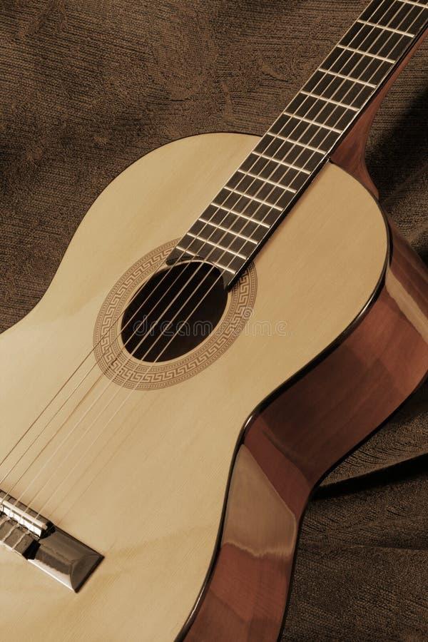 Guitare classique image libre de droits