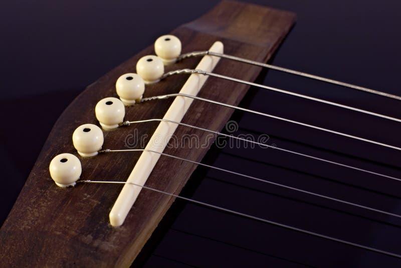 guitare classique de passerelle photographie stock libre de droits