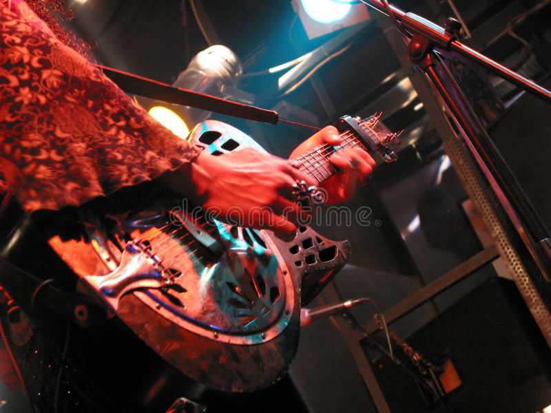 Guitare de Dobro photo stock