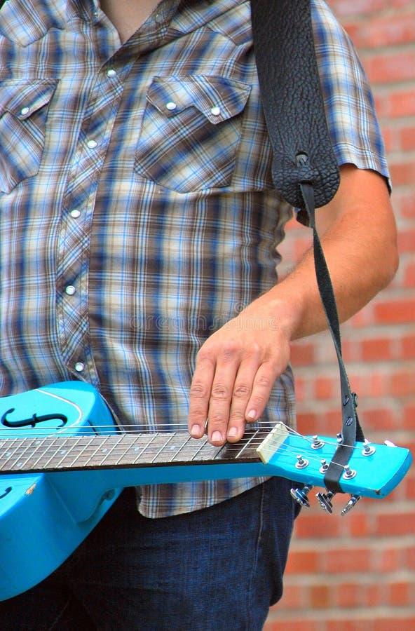 Guitare de Dobro images libres de droits