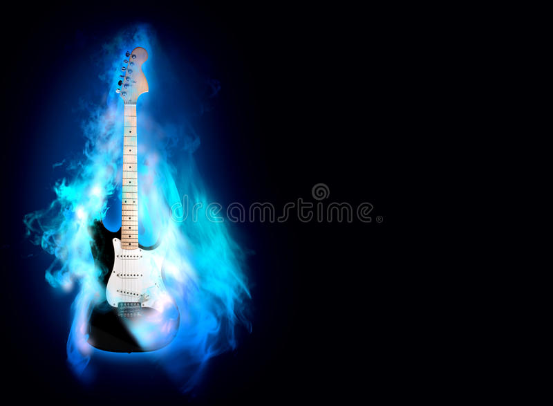 Guitare de Flime photographie stock