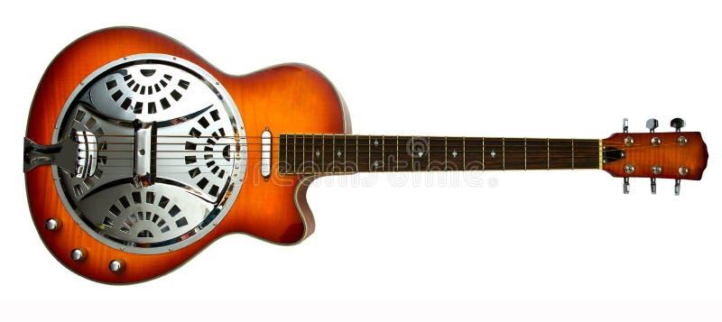 Guitare de glissière de Dobro image libre de droits