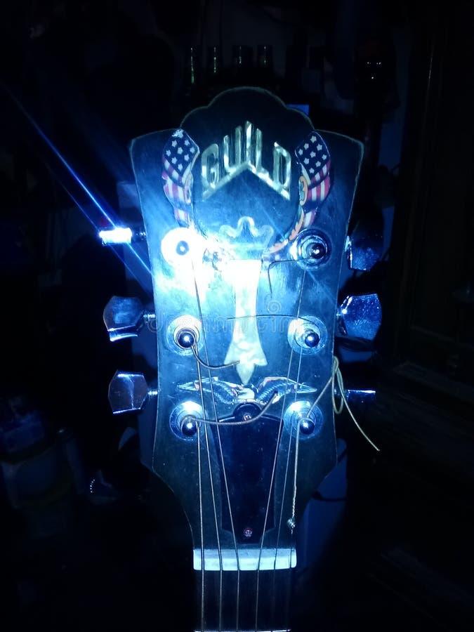 Guitare de guilde image libre de droits
