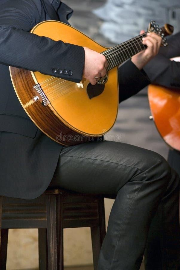 Guitare portugaise traditionnelle photo libre de droits
