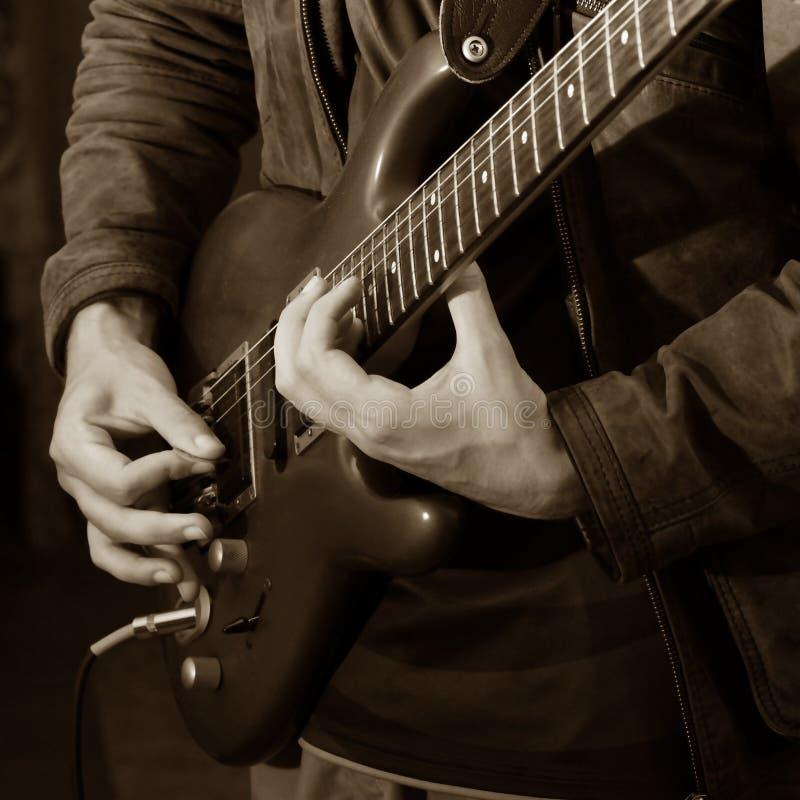 Guitare soloe image stock