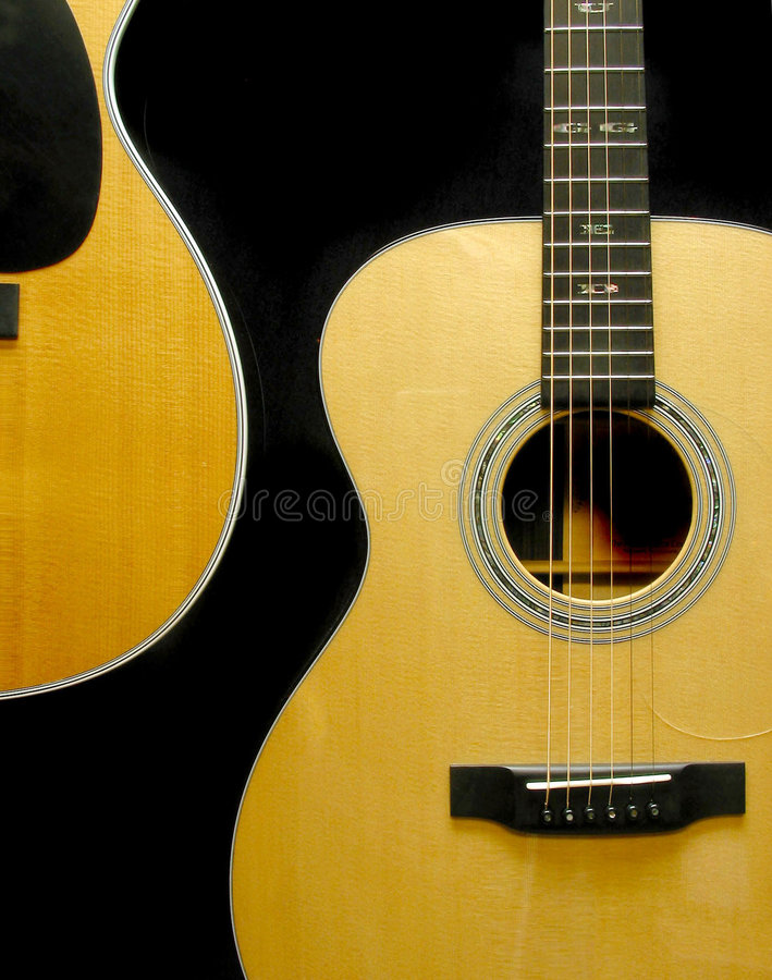 Guitares photo libre de droits
