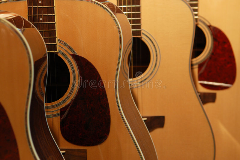 Guitares photo stock