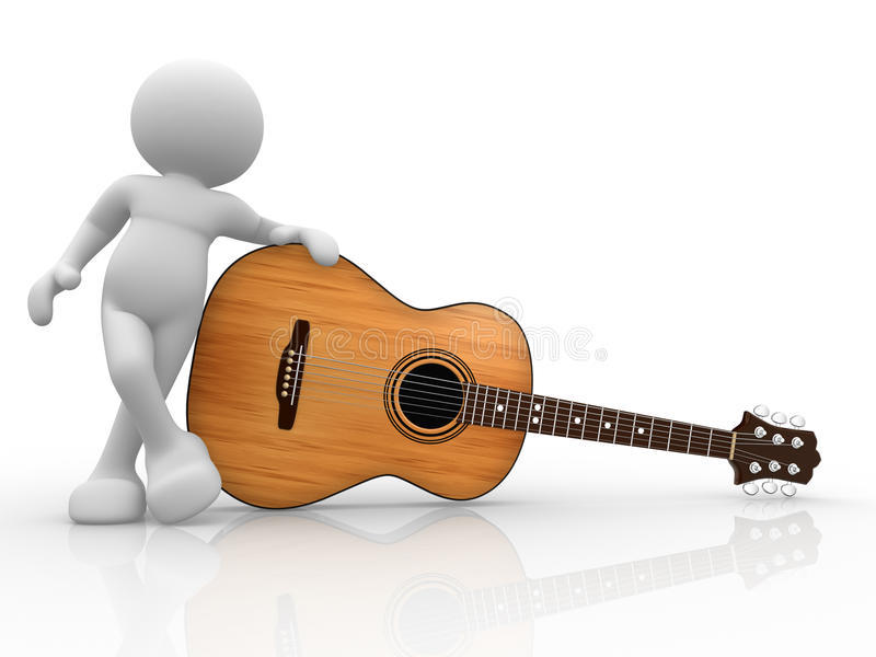 Download Guitarist stock illustration. Image of bass, icon, famous - 23741735