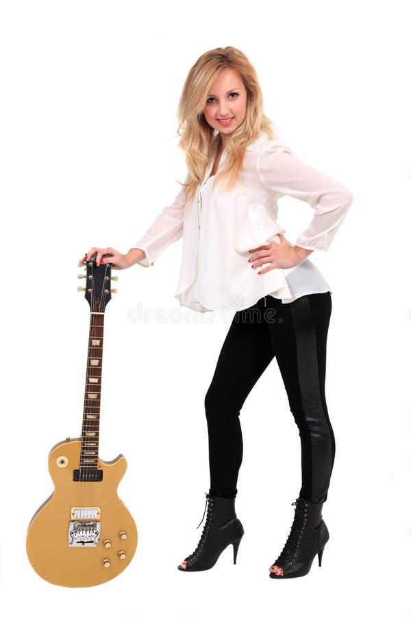 guitarist στοκ εικόνα