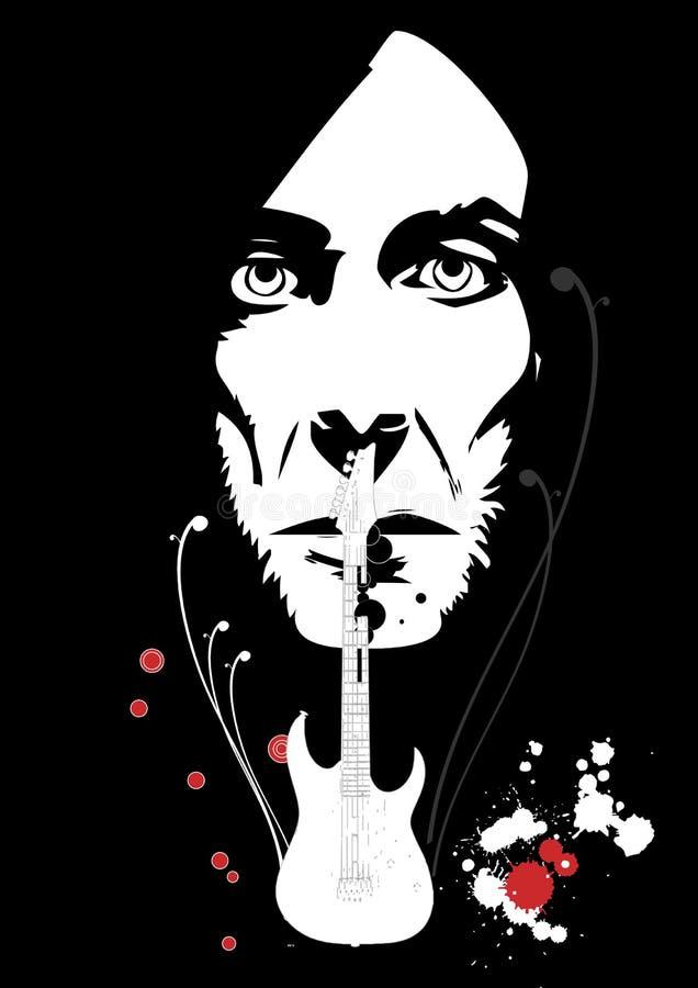 Download Guitarist stock illustration. Image of guitarist, musical - 7851327