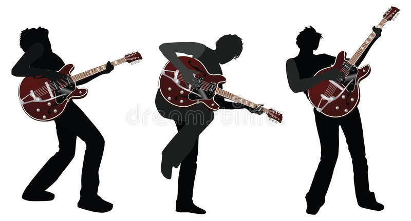 Guitarist. Vector illustration in AI-EPS8 format vector illustration