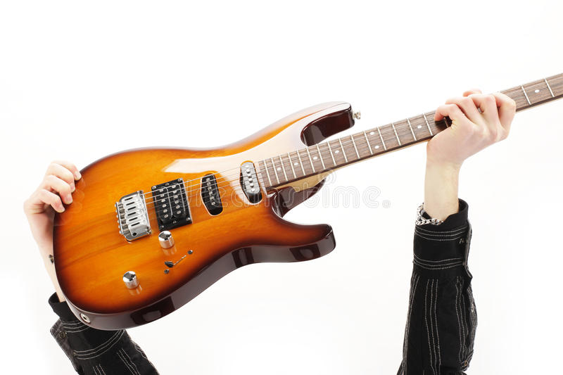 Download Guitarist rock stock image. Image of guitarist, person - 22716997