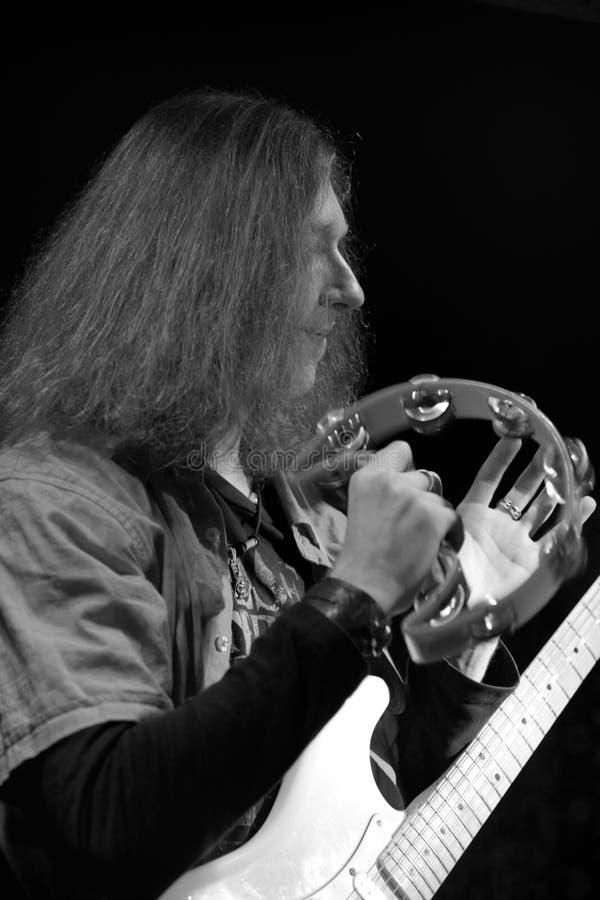 Guitariste photos stock