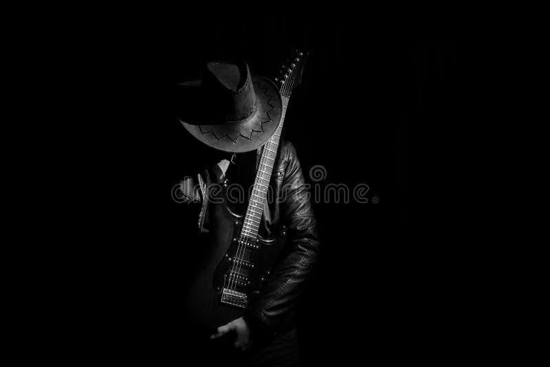Guitariste image stock