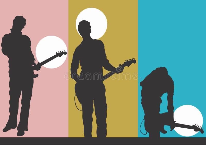 Download Guitariste illustration stock. Illustration du mâle, corde - 741920