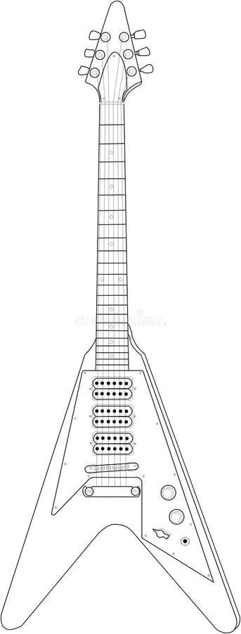 Guitarra 03 imagen de archivo