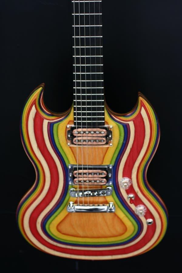 Guitarra imagem de stock