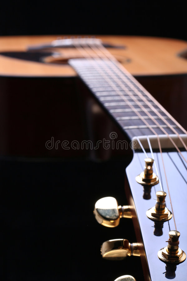 Guitarra foto de stock