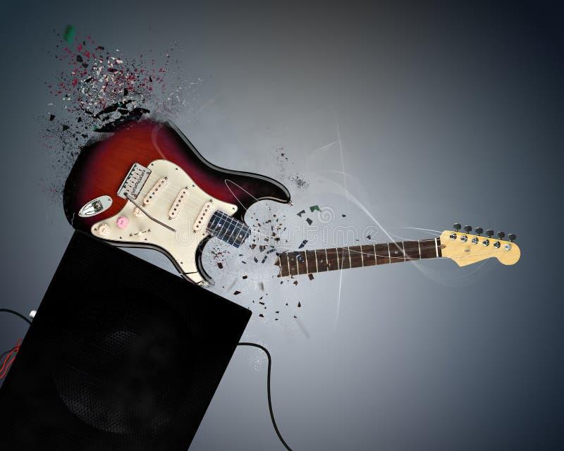 Guitarra ilustración del vector