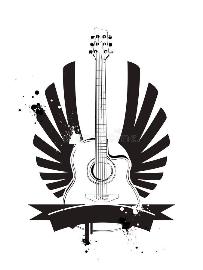 Guitarra libre illustration