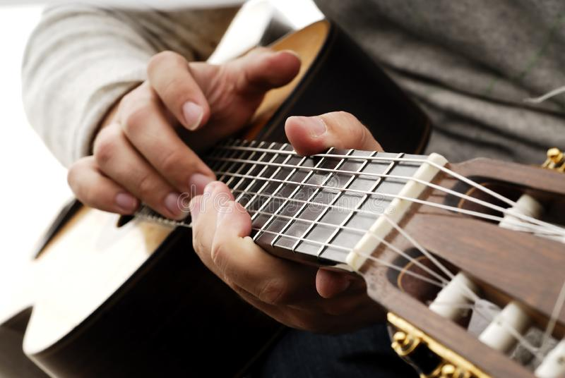 Guitarra 5 fotografía de archivo