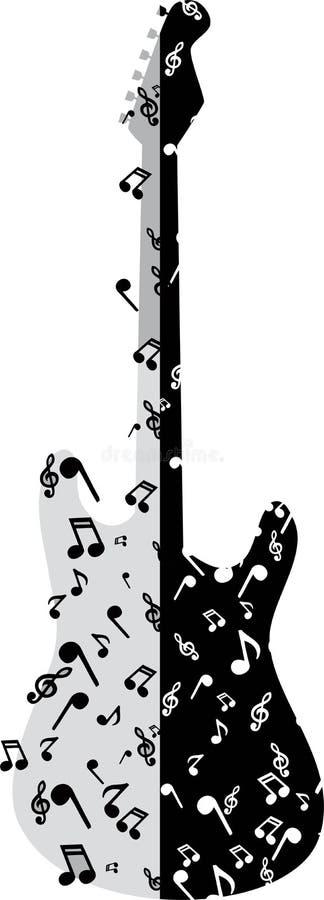 Guitarra abstracta imágenes de archivo libres de regalías