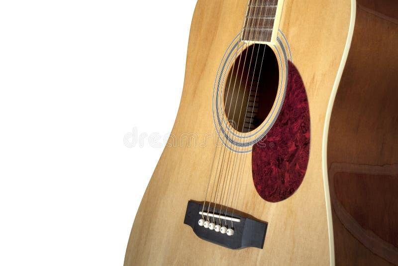 Guitarra acústica fotos de archivo libres de regalías
