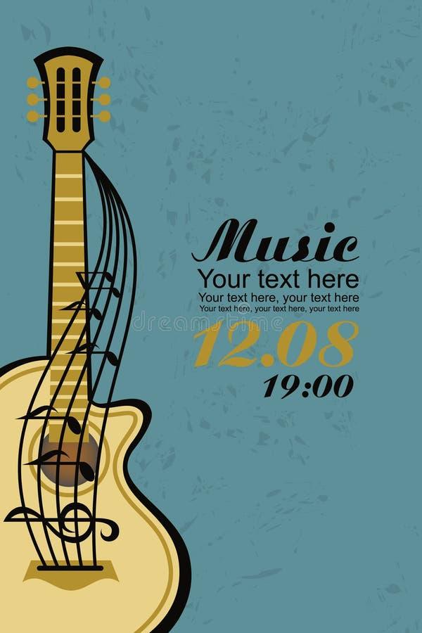 Guitarra acústica libre illustration