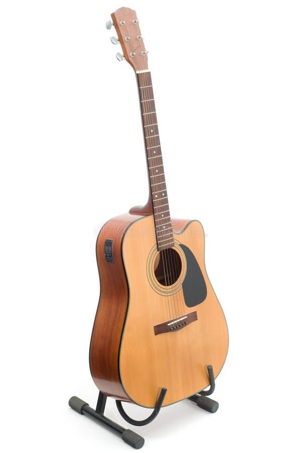 Guitarra acústica imagens de stock
