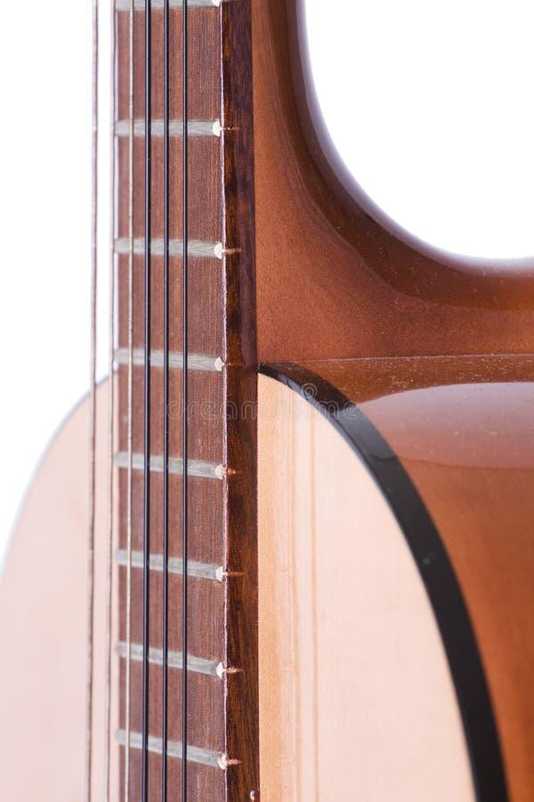 Guitarra acústica clásica imagen de archivo