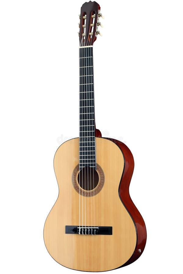 Guitarra acústica clássica fotografia de stock