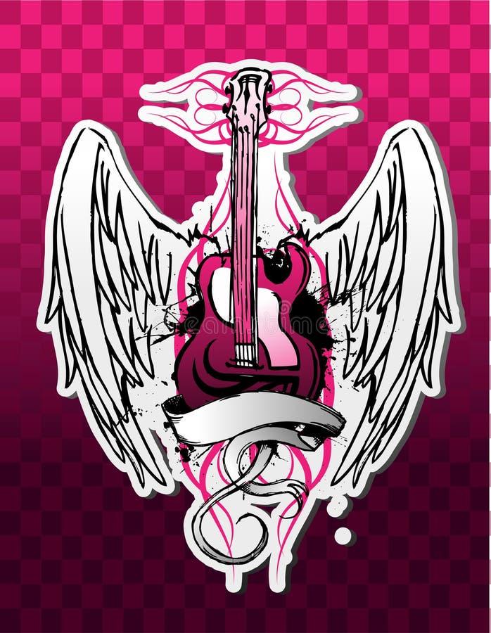 Guitarra afilada