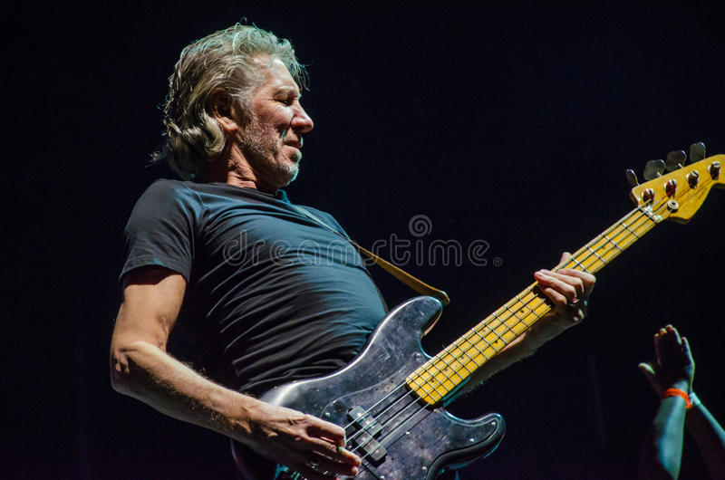 Guitarra-baixo de Roger Waters foto de stock royalty free