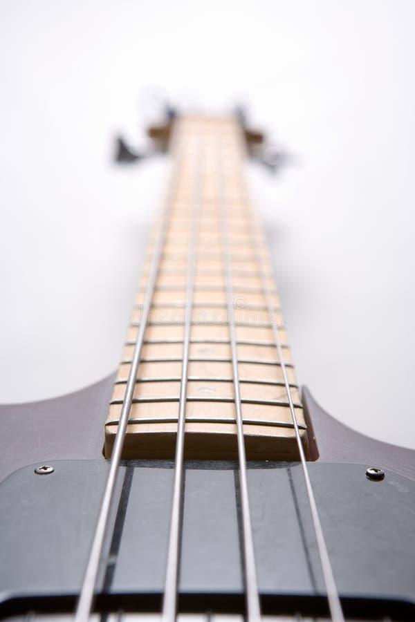 Guitarra baja fotos de archivo