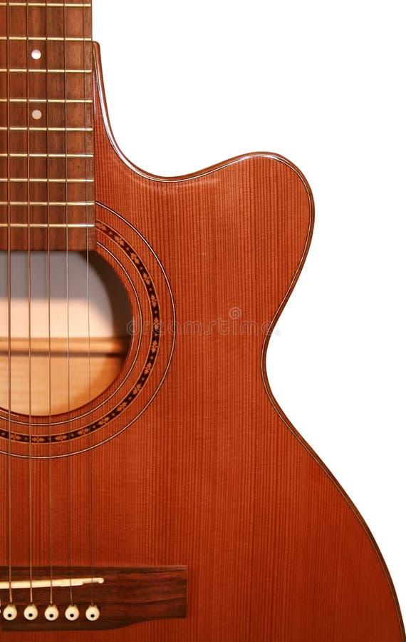 Guitarra bonita foto de stock royalty free
