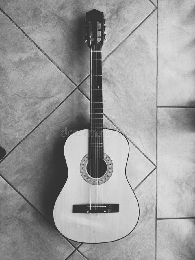 Guitarra cero foto de archivo