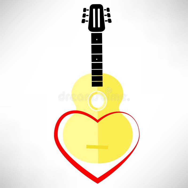 Guitarra clásica libre illustration