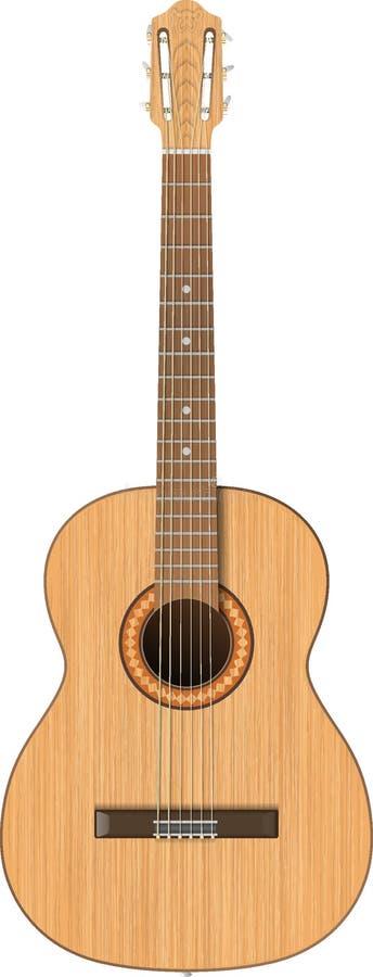 Guitarra coustic del  de Ð foto de archivo