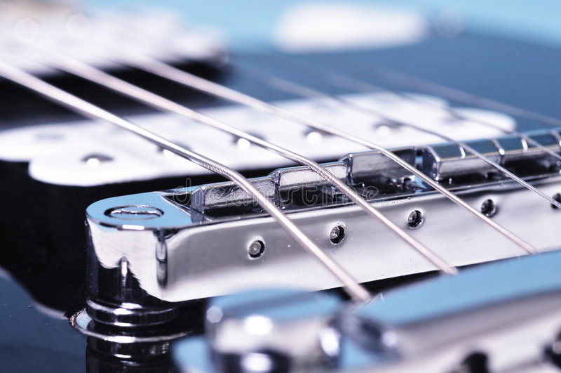 Guitarra da rocha imagem de stock