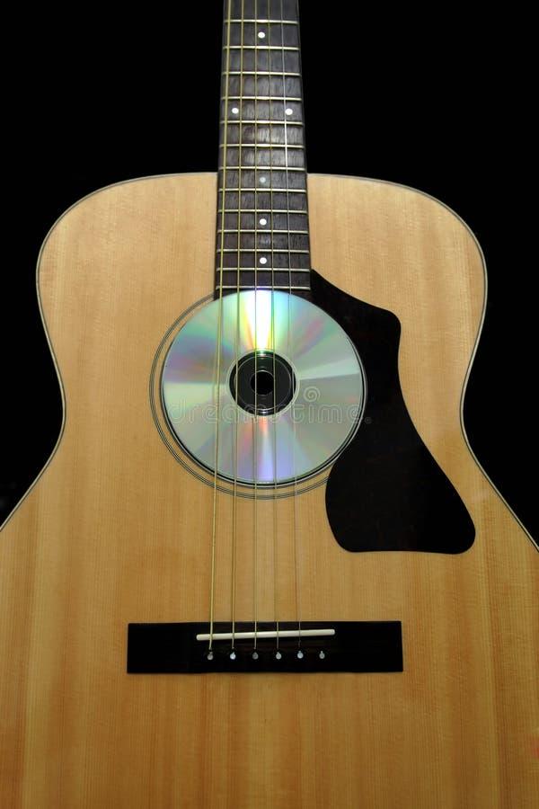 Guitarra de Acoutic imagenes de archivo