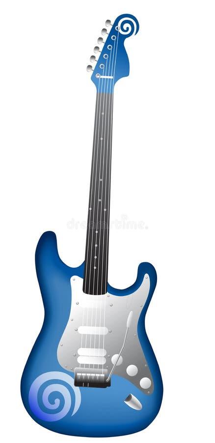 Guitarra de Dreamstime ilustração do vetor