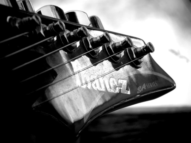 Guitarra de Ibanez imagen de archivo