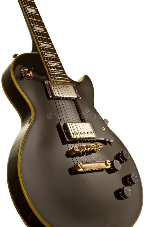 Guitarra de Lespual fotografia de stock