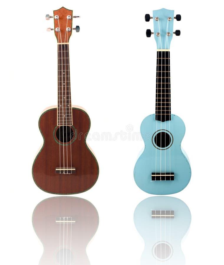 Guitarra del ukelele fotos de archivo