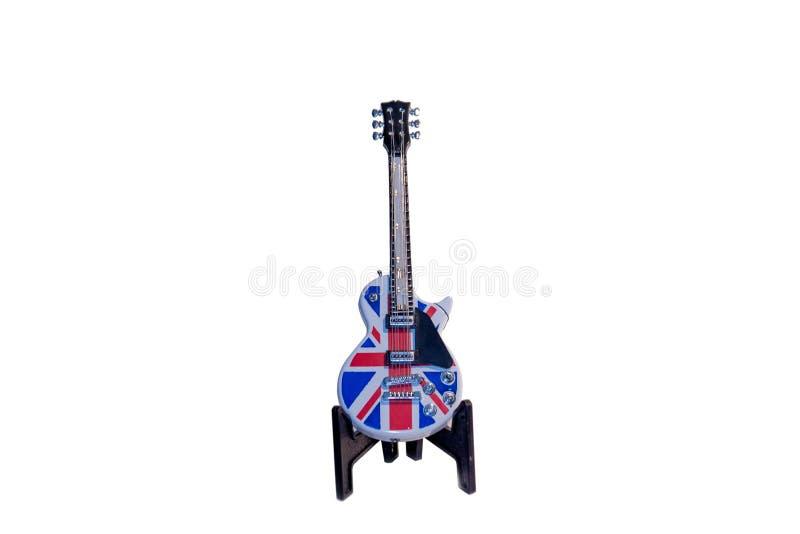 Guitarra do brinquedo imagens de stock