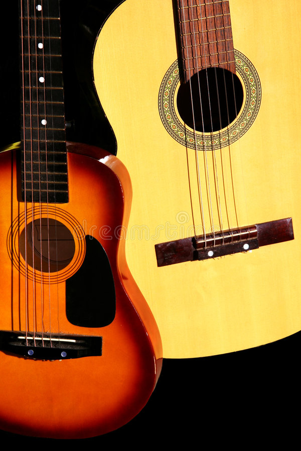 Guitarra do país imagem de stock