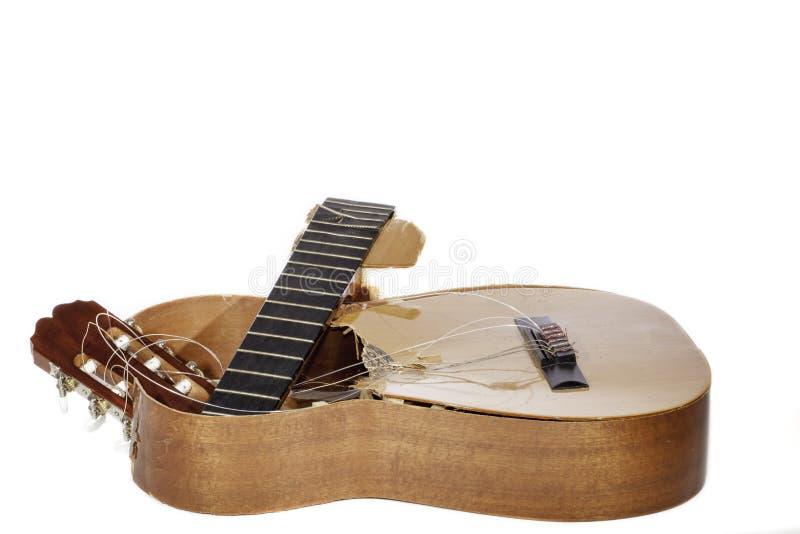 Guitarra dos desperdícios imagem de stock