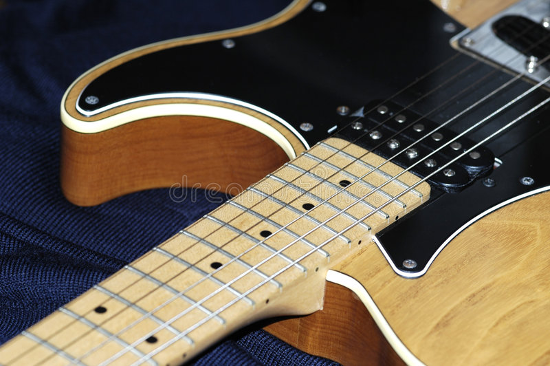Guitarra eléctrica fotos de archivo libres de regalías