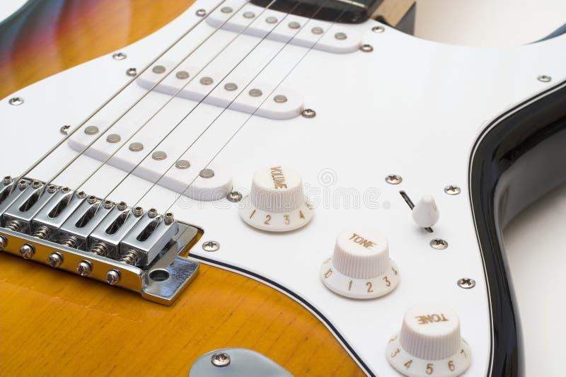 Guitarra eléctrica. foto de archivo