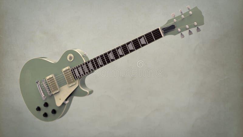 Guitarra eléctrica foto de archivo